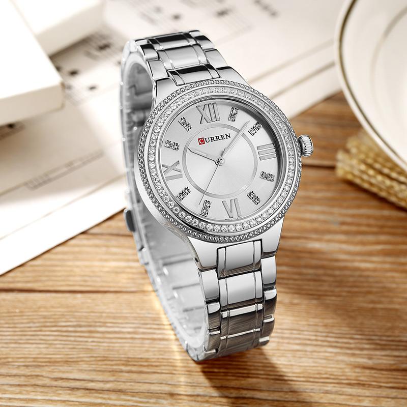 CURREN-9004-Top-Luksusowa-Marka-Kobiety-Zegarek-Kwarcowy-Kryszta-Projekt-Panie-zegarki-na-r-k-relogio