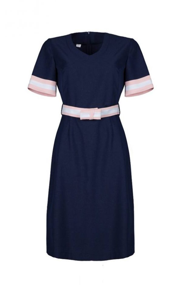 WZ sukienka model 6 grnat zgazda się